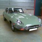 Jaguar E type oldtimer 1971-0